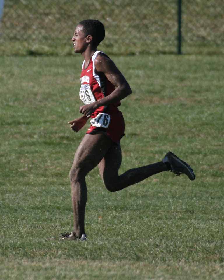 Neftalem Araia, Stanford with 200 meters to go.  Finished 2nd overall.