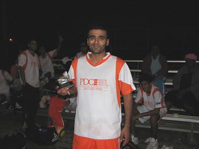 DIVISION IIC SCORING CHAMPION - Harkirat Rai (WOLFPACK FC) - 13 goals