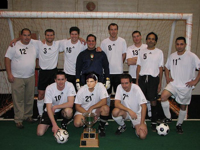 FALL INDOOR DIVISION II CHAMPIONS - SPURS FC