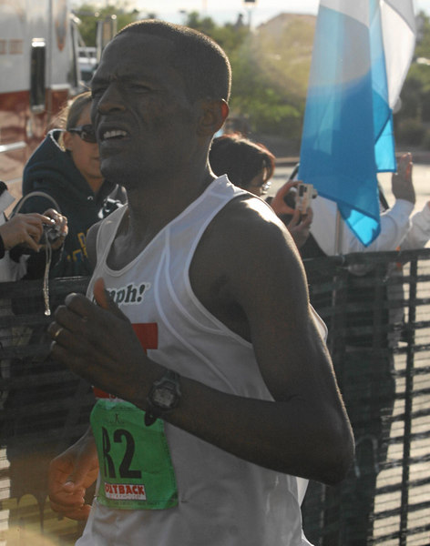 The elite marathoners felt the burn.