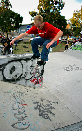 Skateboarding - Coorparoo, 24 June 2006