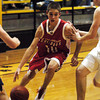 Globe/T. Rob Brown<br /> Carl Junction's Justin Gyznetson (10) drives the ball toward the goal against a Francis Howell Central defender Wednesday afternoon during the Neosho Holiday Classic, Dec. 27, 2006, at Neosho High School.<br /> Section: Sports