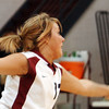 Globe/T. Rob Brown<br /> Joplin's Laken Neal (13) tries what she can to get the ball back over to the Parkview side during Monday night's game, Oct. 23, 2006, at Joplin.<br /> Section: Sports
