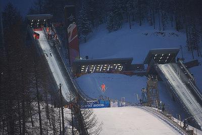 Ski Jumping Men's LH Team final rankings 1 Widhoelzl / Koch / Kofler / Morgenstern AUT 511.4 2 Ahonen / Happonen / Hautamaeki / Kiuru FIN 509.4 3 Ljoekelsoey / Ingebrigtsen / Romoeren / Bystoel NOR 497.7