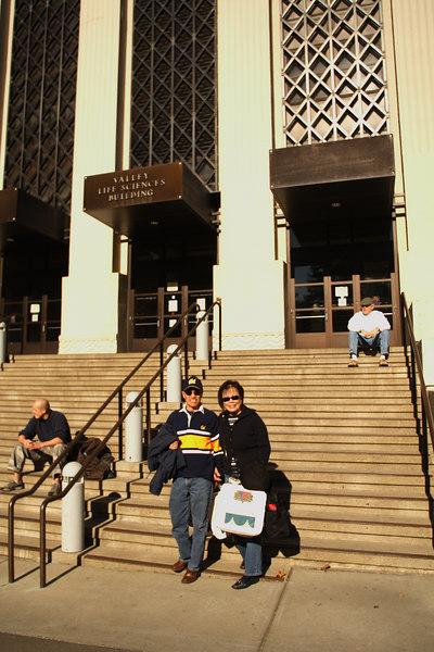 Hi Nick! (He was taking his LSAT in this building)