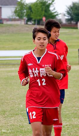 2006 4 10.Game.withJiangsu.girls.soccer.team