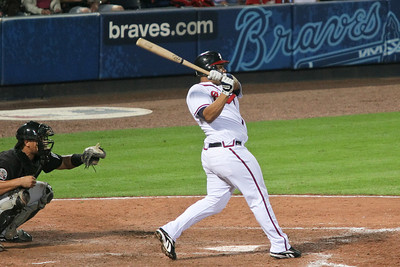 Catcher Brayan Pena came in to pinch hit for starting catcher Brian McCann, but he had one strike out and no hits in two at-bats.