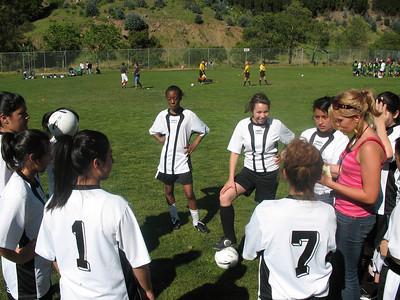 Unity vs. Lighthouse (Girl's Soccer) Friday, April 11, 2008