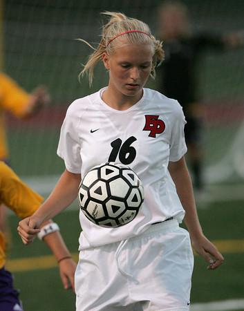 EPHS Girls Varsity Soccer vs Chaska (Sept 4, 2007)