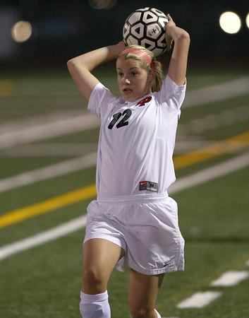 EPHS Girls Varsity Soccer vs Burnsville (Sept 27, 2007)