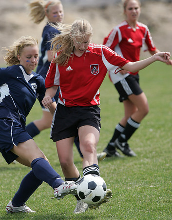 EP Storm U15 Soccer vs North Metro Crushers @ Midwest Soccer Challenge (Apr 21, 2007)