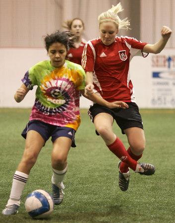 EP Storm U15 Soccer vs Prior Lake @ Indoor Soccer Blast (Feb 11, 2007)