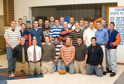 GK Football banquet team photo