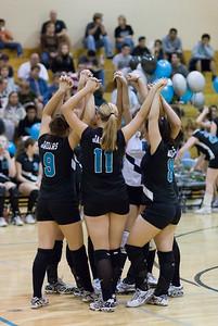 Spartan-Jaguar Varsity Volleyball Oct 23 2007