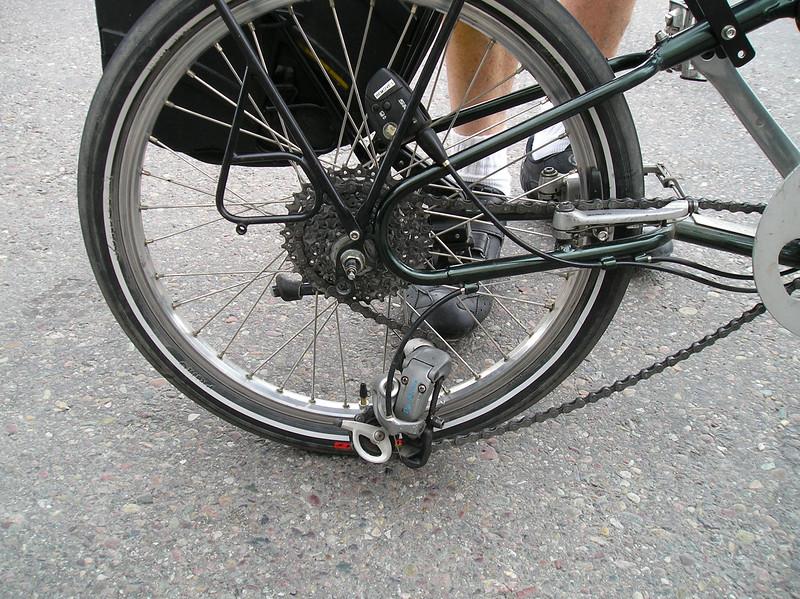 Will's broken rear derailleur