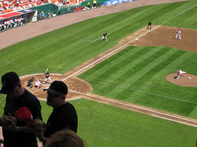 2007 Nationals Opening Day, Marlins 9 @ Nationals 2