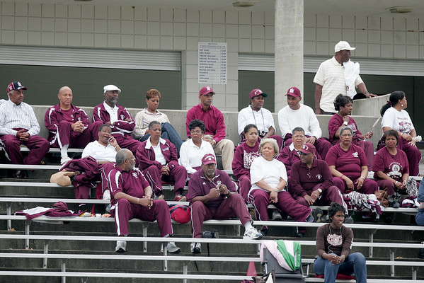 A host of AAMU fans that made the trip to Lorman MS to see AAMU defeat Alcorn 24-20.