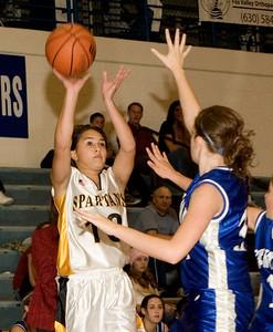 Sycamore:  10 Jessica Fogelsanger first quarter Central: