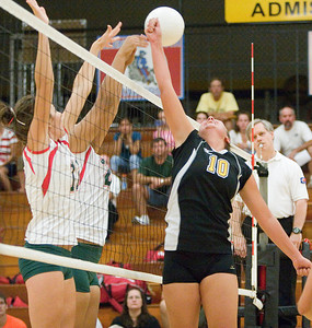 Copyright 2007 Curtis Clegg Sycamore vs. LaSalle-Peru volleyball 8-27 Sycamore:  10 Caitlin Johnson