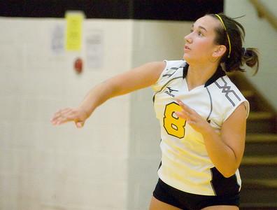 Copyright 2007 Curtis Clegg Sycamore vs. LaSalle-Peru volleyball 8-27 Sycamore:  8 Justine Schepler