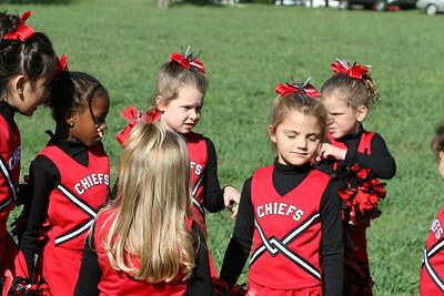 Bantam Cheerleaders