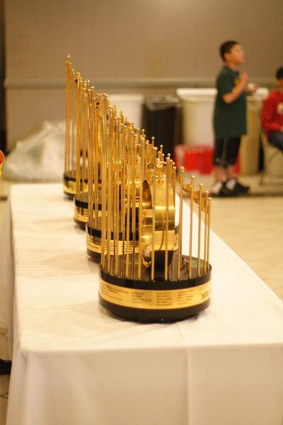 World Series Trophies