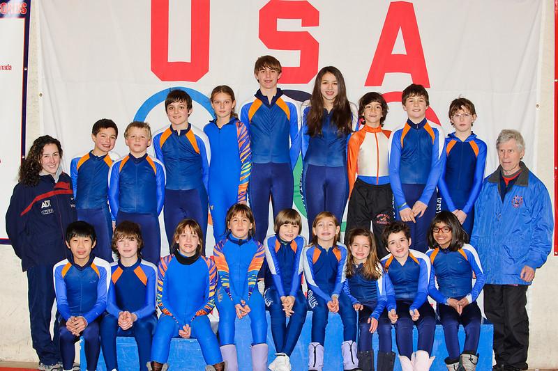 West Allis Speedskating Club (practice) 1-08-09