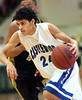 Castlewood's Ryan Meade' #24, drives past Radford's Scott Hendricks, #10, Photo by Ned JIlton II