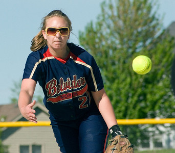 Belvidere North High School sophomore pitcher Taelor Pipkin
