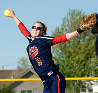 Belvidere North High School sophomore pitcher Jillian Leutscher