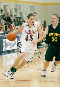 Belvidere:  54 Dave Delacy Belvidere North:  45 Jake Adams