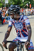 Rahsaan Bahati of Rock Racing.  2008 US Pro National Criterium Championships (Pro race).  Downers Grove, IL