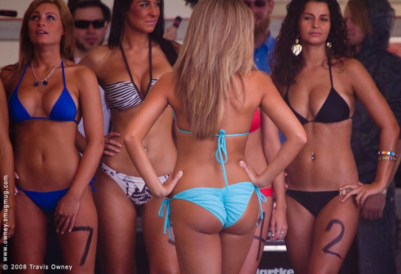 2008 East Coast Surfing Championships Miss ECSC Bikini Contest