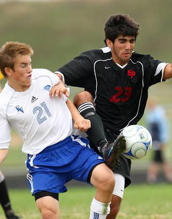 EPHS Varsity Boys Soccer vs Eastview (Sept 27, 2008)