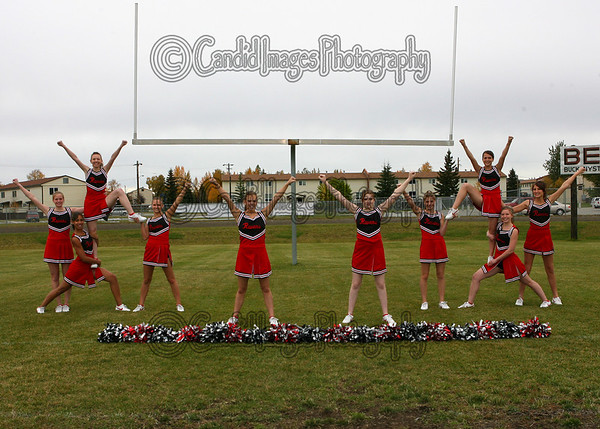 2008 Eielson Football Cheerleaders