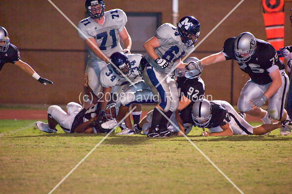 2008 October 16 - Freshman and JV Marietta vs East Paulding