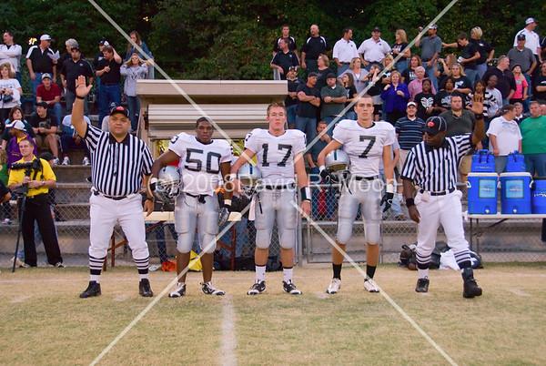 2008 September 26, East Paulding Raiders vs Marietta Blue Devils High School Football Varsity (27-7)