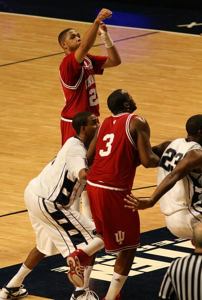 March 9, 2008  Penn St vs. Indiana NCAA Men's basketball<br /> Eric Gordon and DJ White