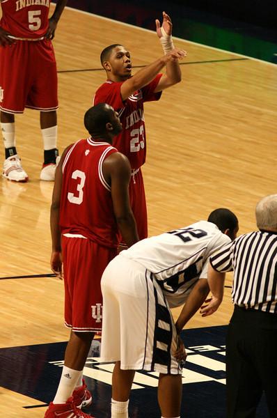 March 9, 2008  Penn St vs. Indiana NCAA Men's basketball<br /> Eric Gordon shots free throws