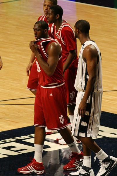 March 9, 2008  Penn St vs. Indiana NCAA Men's basketball<br /> DJ White, Jordan Crawford, and Eric Gordon