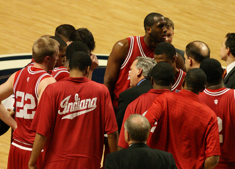 March 9, 2008  Penn St vs. Indiana NCAA Men's basketball