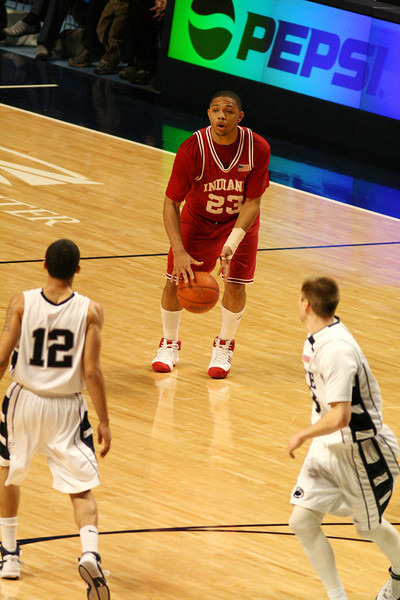 March 9, 2008  Penn St vs. Indiana NCAA Men's basketball<br /> Eric Gordon