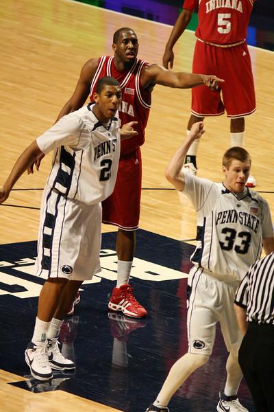 March 9, 2008  Penn St vs. Indiana NCAA Men's basketball<br /> DJ White