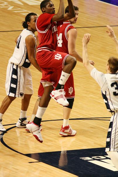 March 9, 2008  Penn St vs. Indiana NCAA Men's basketball<br /> Jordan Crawford
