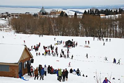 2008 01 03:  Marshall Sprints, Duluth East, Nordic Ski