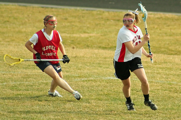 North Carroll Girls JV Lax Old Mill Scrimmage