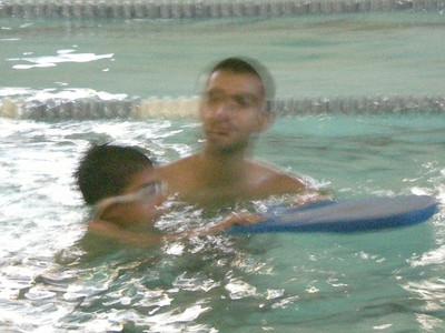 2008 Nareg Learning to Swim