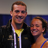 Fran and Claire. Fran needs to practice for tomorrow. Claire is back in the pool for the first time in...