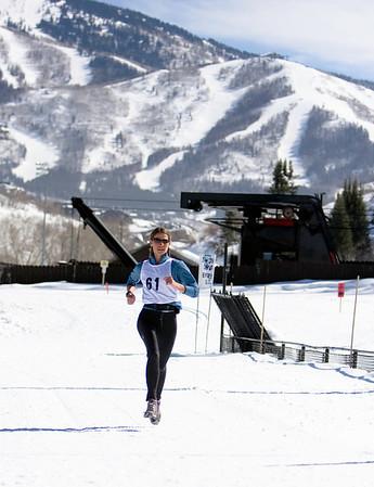Jenna finishing Stage 5