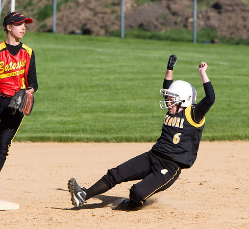 2008 - Sycamore softball 5-8